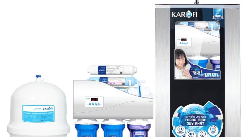 Chọn mua máy lọc nước Karofi, Kangaroo, AOSmith, Aqua, Sunhouse, Geyser, Panasonic, Mitsubishi...