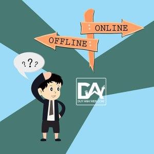 So sánh giữa mua hàng trực tuyến và truyền thống