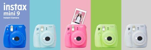 Máy chụp hình lấy liền Fuji Instax Mini 9