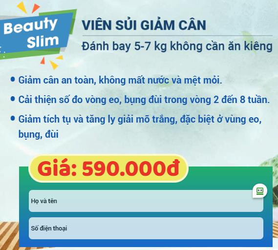 Beauty Slim2in1 giảm cân