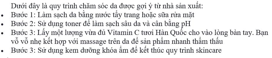 review Vita-C Total Care Ampule