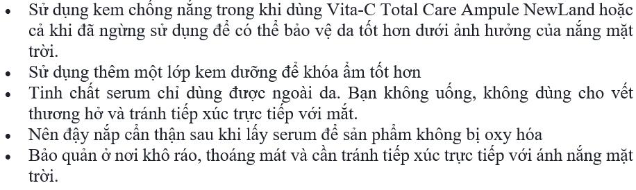 Vita-C Total Care Ampule