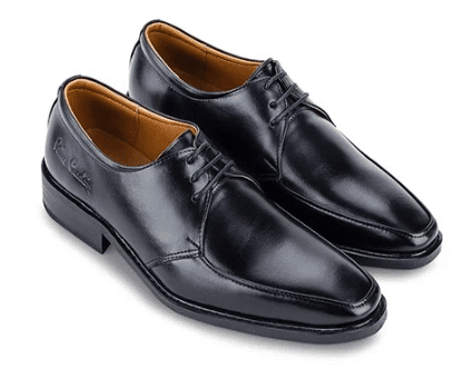 Giày da nam Pierre Cardin Black/Brown Derby