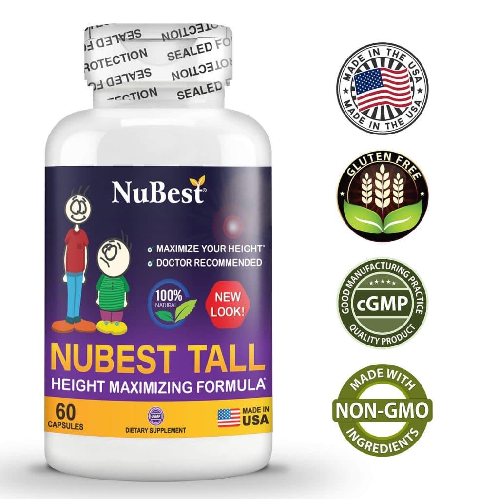 Review viên uống tăng chiều cao NuBest Tall có hiệu quả không, công dụng của SP và cách dùng thế nào, hiệu quả ra sao, giá bao nhiêu, mua ở đâu chính hãng