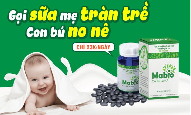 Viên Uống Lợi Sữa Mabio