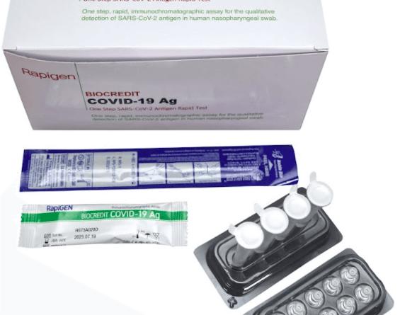 Review Bộ Kit Test Covid BioCredit